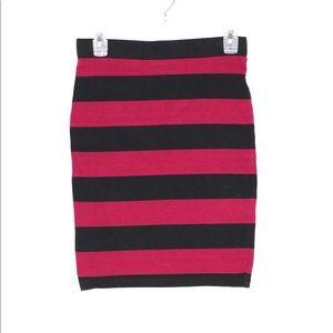 [Forever21] Stripes Mini Skirt Size M